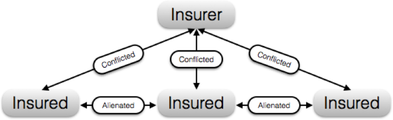 Insurance Company Network Mapped Out