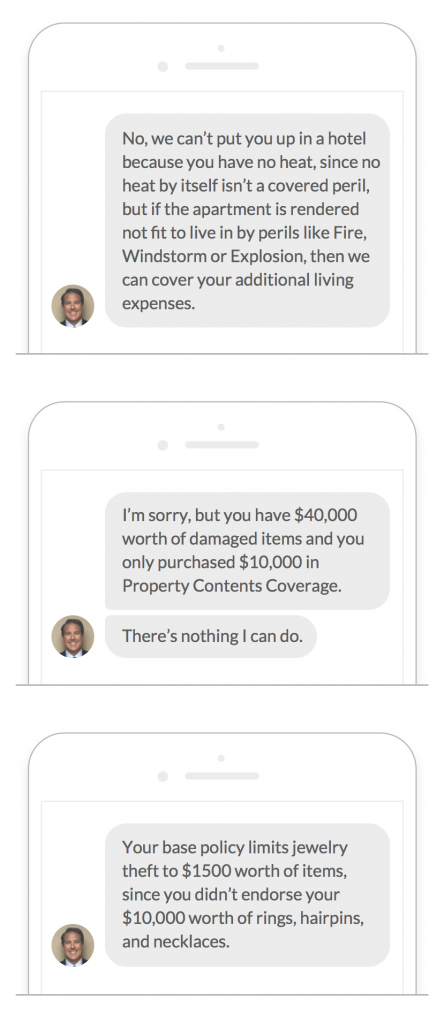 Lemonade Insurance Chatbot, AI Jim
