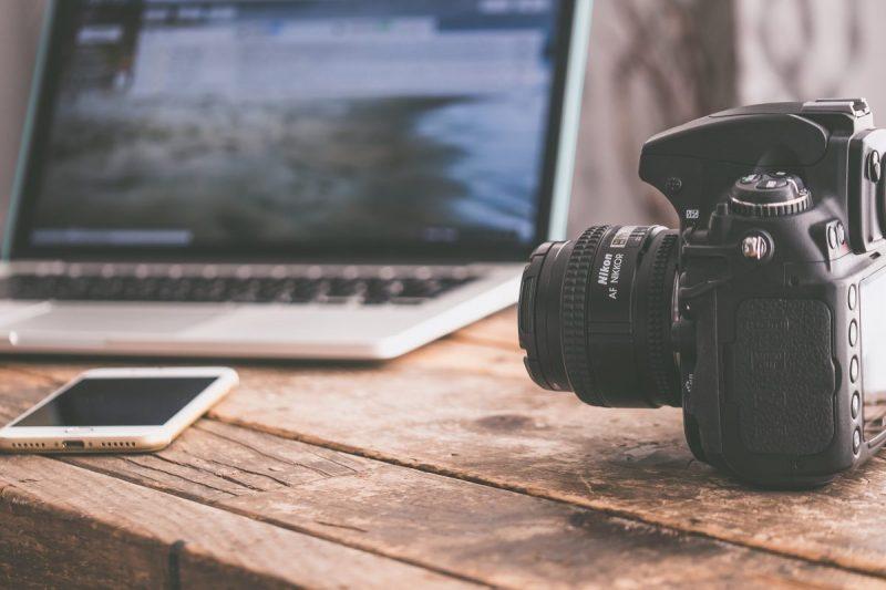 camera and computer - lemonade blog