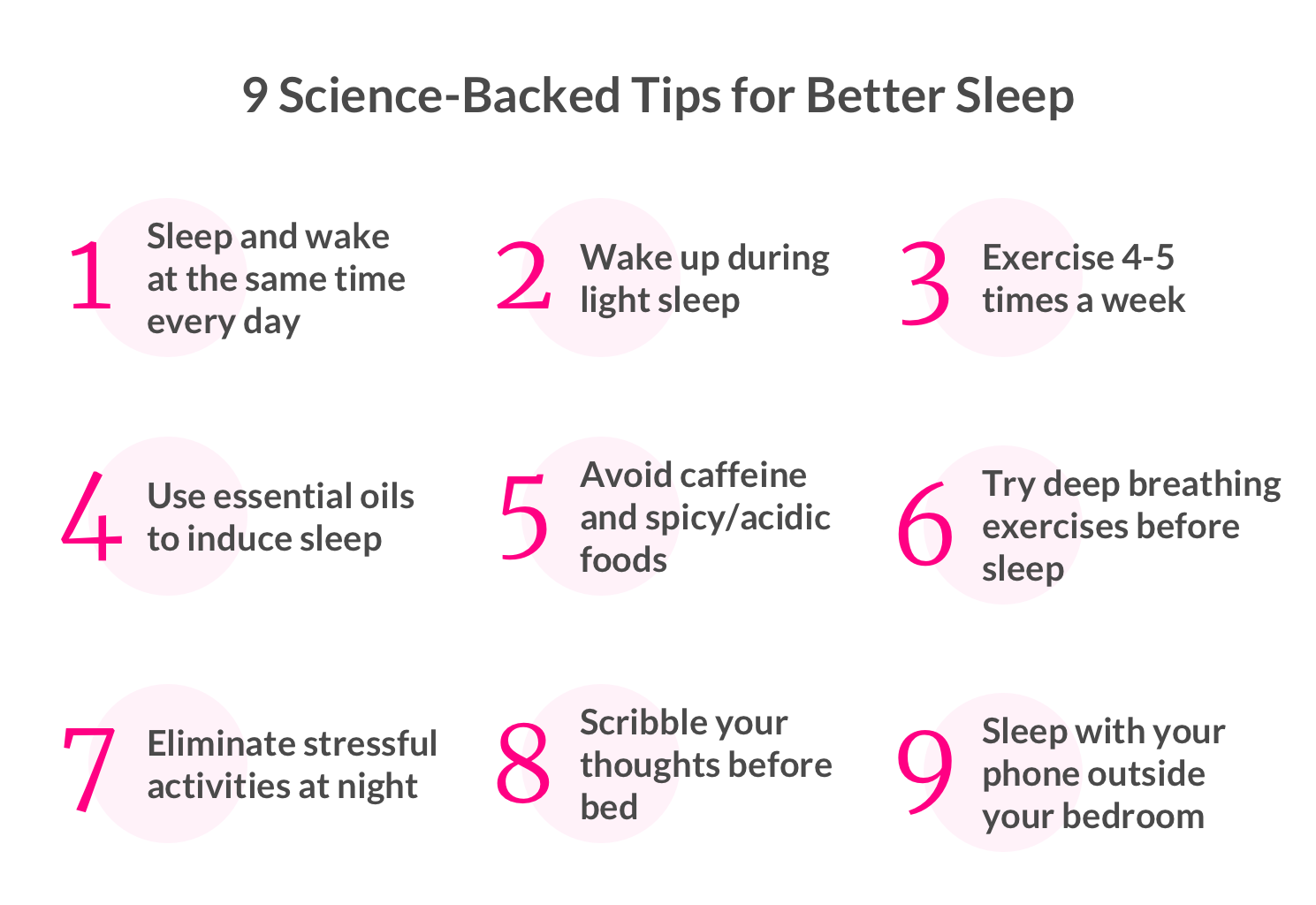 9 Science-Backed Tips for Better Sleep - Lemonade Blog