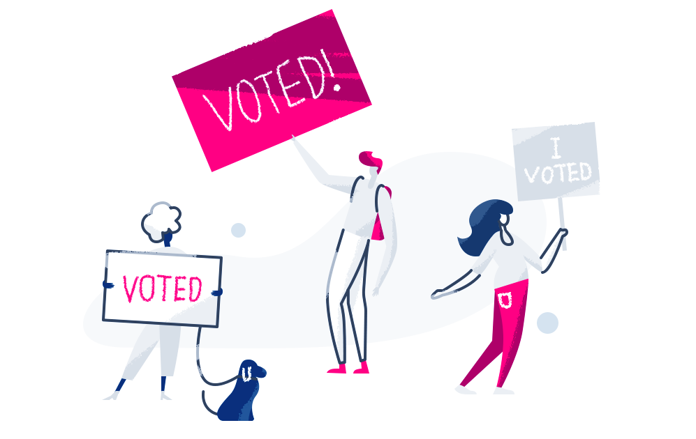 I voted - Lemonade Blog