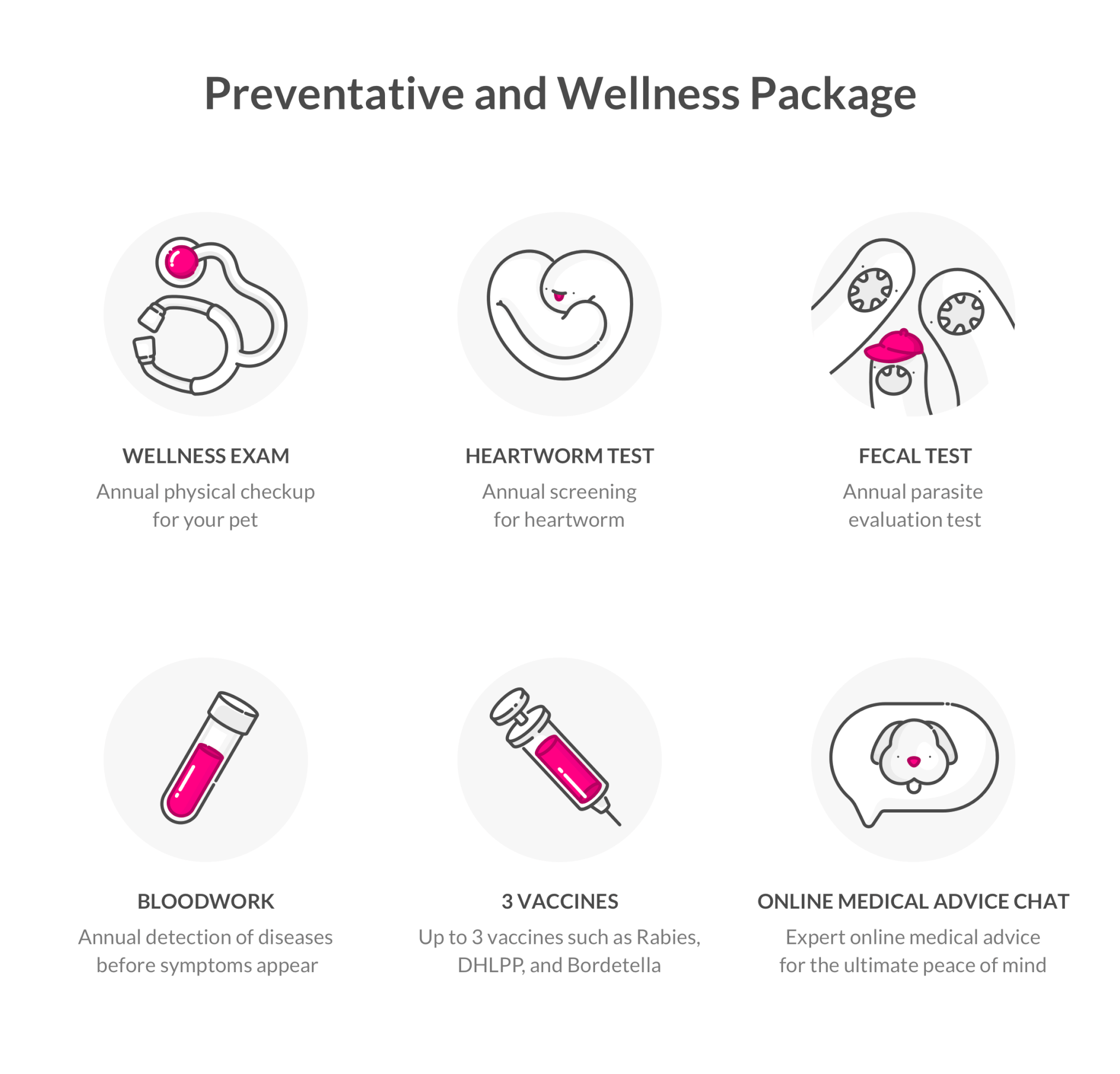 Preventative and Wellness Package