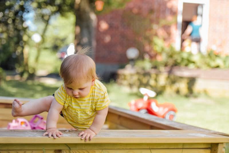 Garten babysicher machen