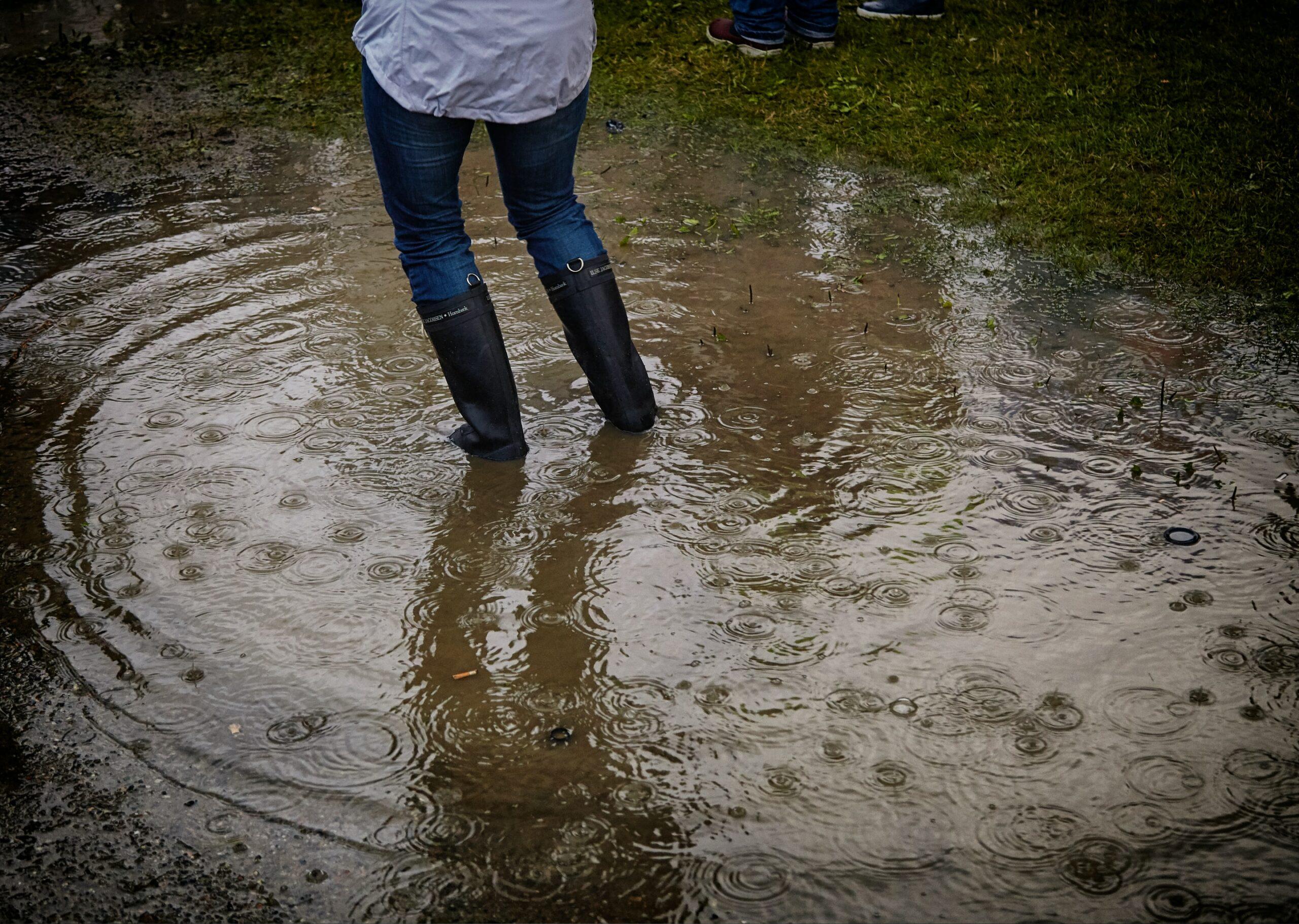 Überschwemmungsschäden